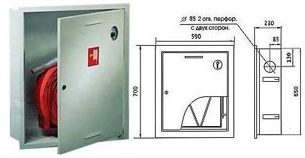 Шкаф Пожарный ШПК-310В3Б
