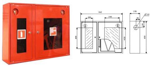 Шкаф пожарный ШПК-315Н0К