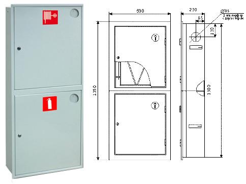 Шкаф пожарный ШПК-320Н3Б