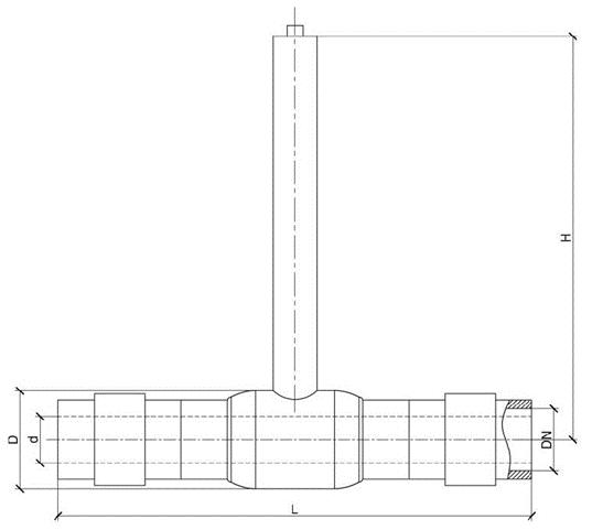 Кран шаровый газовый 10с10п1 чертеж