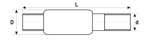 Изолирующее соединение ИС под приварку